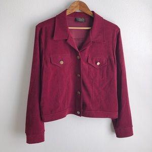 David Paul New York Velvet Jacket Blazer